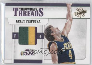 2010-11 Panini Season Update Throwback Threads Prime #10 - Kelly Tripucka /49