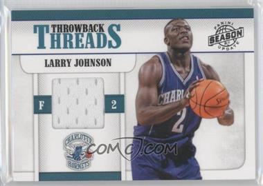 2010-11 Panini Season Update Throwback Threads #4 - Larry Johnson /299