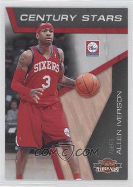 2010-11 Panini Threads Century Stars #2 - Allen Iverson