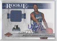 Wesley Johnson /50