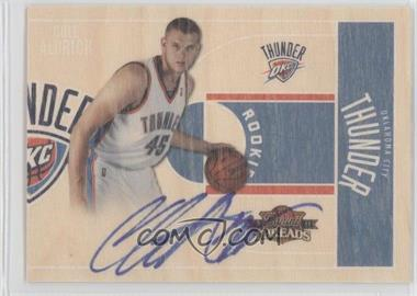 2010-11 Panini Threads #4 - Cole Aldrich /399