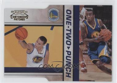 2010-11 Playoff Contenders One-Two Punch Gold Die-Cut #6 - Stephen Curry, Monta Ellis /99