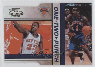 2010-11 Playoff Contenders One-Two Punch Gold Die-Cut #9 - Amare Stoudamire, Toney Douglas /99