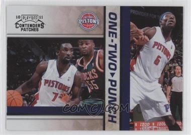 2010-11 Playoff Contenders One-Two Punch #13 - Ben Gordon, Ben Wallace