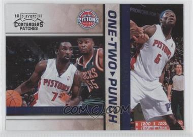 2010-11 Playoff Contenders One-Two Punch #13 - [Missing]