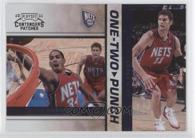 2010-11 Playoff Contenders One-Two Punch #15 - Devin Harris, Brook Lopez