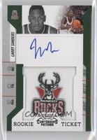 Rookie Ticket Autograph - Larry Sanders