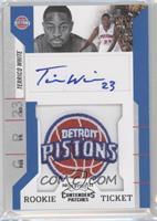 Rookie Ticket Autograph - Terrico White