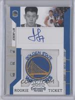 Rookie Ticket Autograph - Jeremy Lin