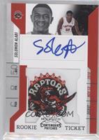 Rookie Ticket Autograph - Solomon Alabi