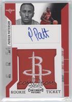 Rookie Ticket Autograph - Patrick Patterson