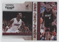 Chris Bosh, Lebron James /49