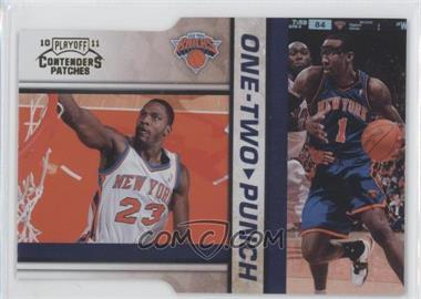 2010-11 Playoff Contenders Patches - One-Two Punch - Gold Die-Cut #9 - Amare Stoudemire, Toney Douglas /99