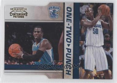 2010-11 Playoff Contenders Patches One-Two Punch Gold Die-Cut #21 - Chris Paul, Emeka Okafor /99