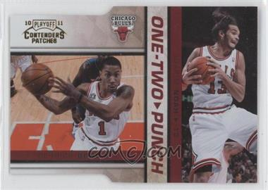 2010-11 Playoff Contenders Patches One-Two Punch Gold Die-Cut #4 - [Missing] /99
