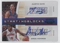 Austin Daye, Greg Monroe /10