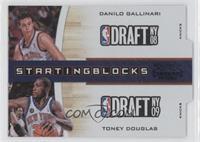 Danilo Gallinari, Toney Douglas /49