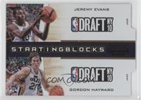 Jeremy Evans, Gordon Hayward /49