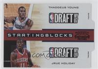 Thaddeus Young, Jrue Holiday /49