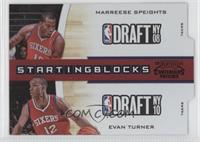 Marreese Speights, Evan Turner /49