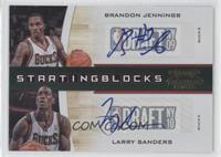 Brandon Jennings, Larry Sanders /49