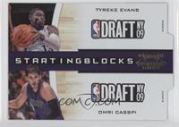 Tyreke Evans, Omri Casspi /99