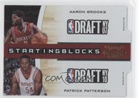 Aaron Brooks, Patrick Patterson /99