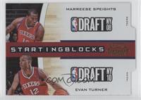 Marreese Speights, Evan Turner /99