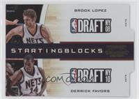 Brook Lopez, Derrick Favors /99
