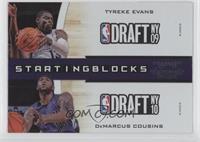 Tyreke Evans, DeMarcus Cousins