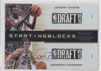 Jeremy Evans, Gordon Hayward