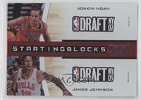 Joakim Noah, James Johnson