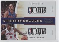 Austin Daye, Greg Monroe