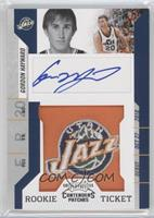 Rookie Ticket Autograph - Gordon Hayward