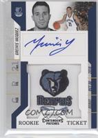 Rookie Ticket Autograph - Greivis Vasquez