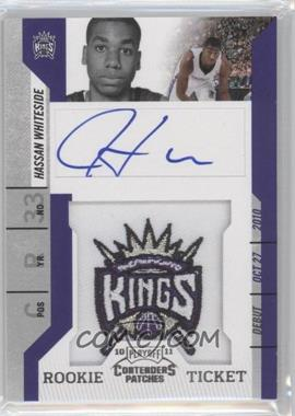 2010-11 Playoff Contenders Patches #131 - Rookie Ticket Autograph - Hassan Whiteside