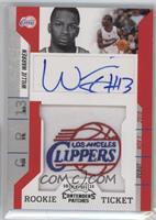 Rookie Ticket Autograph - Willie Warren