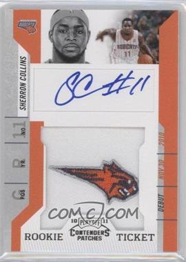 2010-11 Playoff Contenders Patches #142 - Rookie Ticket Autograph - Sherron Collins