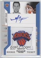 Rookie Ticket Autograph - Landry Fields