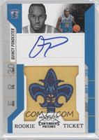 Rookie Ticket Autograph - Quincy Pondexter