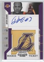 Rookie Ticket Autograph - Devin Ebanks