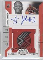 Rookie Ticket Autograph - Armon Johnson