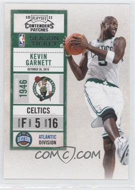 2010-11 Playoff Contenders Patches #55 - Kevin Garnett