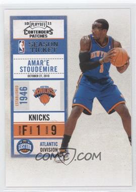 2010-11 Playoff Contenders Patches #60 - Amar'e Stoudemire