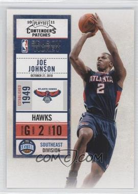 2010-11 Playoff Contenders Patches #85 - Joe Johnson