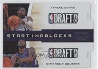 Tyreke Evans, DeMarcus Cousins /299