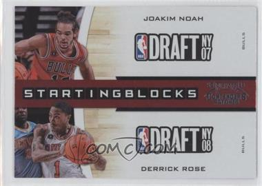 2010-11 Playoff Contenders Starting Blocks #18 - Joakim Noah, James Johnson