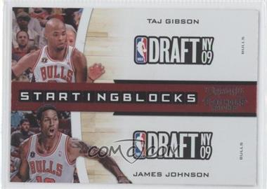 2010-11 Playoff Contenders Starting Blocks #21 - Taj Gibson, James Johnson
