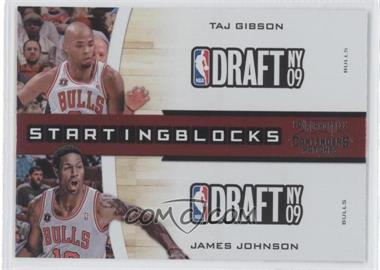 2010-11 Playoff Contenders Starting Blocks #21 - Taj Gibson, James Johnson