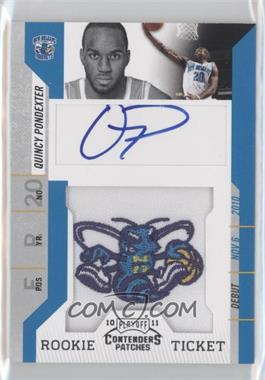 2010-11 Playoff Contenders #125 - Quincy Pondexter